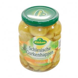 Carl Kühne KG: Kühne Schlesische Gurkenhappen - 1 Glas à 720 ml