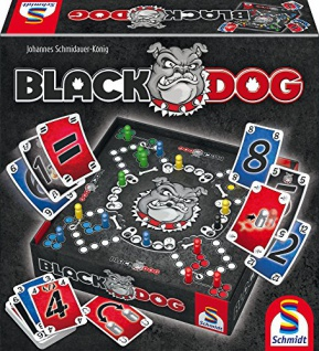 Schmidt Spiele 49323 Black Dog, Spiel und Puzzle
