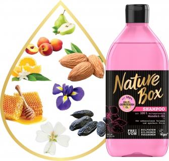 NATURE BOX Shampoo Mandel 385 ml