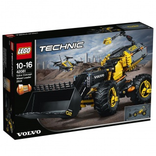 Lego Technic 42081 Volvo Konzept-Radlader ZEUX Entdecke ein neues Fahrzeug