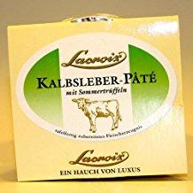 Lacroix Kalbsleber Pate mit Sommertrüffeln und Tafelfertig 80g