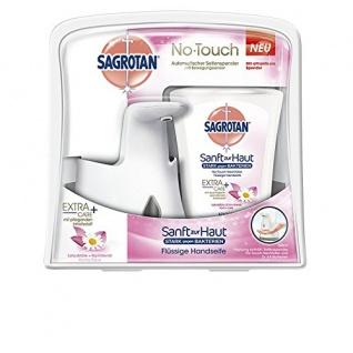 Sagrotan No Touch Starter-Set Weiß inklusive Nachfüller, 1er Pack (1 x 250 ml)