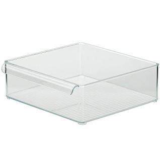 "Kela "" Gent"" Container, PS Kunststoff, transparent, 30x 30x 10cm"