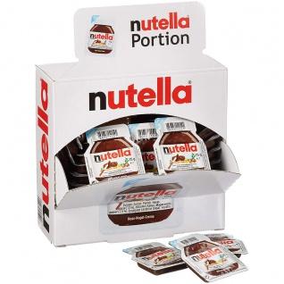 Nutella Nuss Nougat Creme Brotaufstrich Thekendisplay 15g 40er Pack