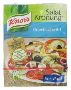 Knorr Salatkrönung Kräuter und Gewürze Griechische Art 10g