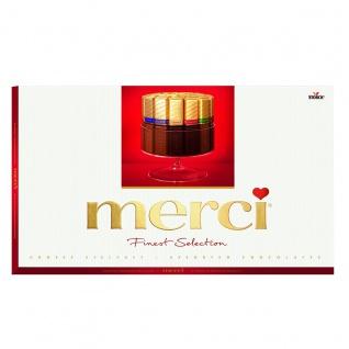 merci Finest Selection Große Vielfalt Schokoladen Spezialitäten 400g