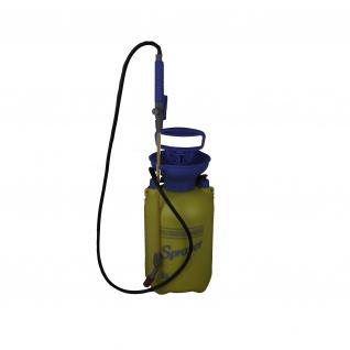 Drucksprueher blau/gelb
