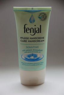 fenjal Handcreme Sensitiv/ 75ml/ mit Avocadoöl/ für empfindliche & trockene Hände/ pflegt & schützt/ Pflege Handcreme - Vorschau