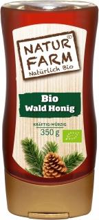 NATURFARM BIO Qualität Wald Honig kräftig würzig in der Tube 350g