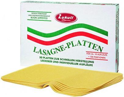 Knorr Lasagne-Platten 10 kg