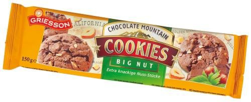 GRIESSON Cookies Big Nut, 7-er Pack (7 x 150 g)