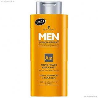 Men Amino Power Hair und Body Shampoo, 250 ml