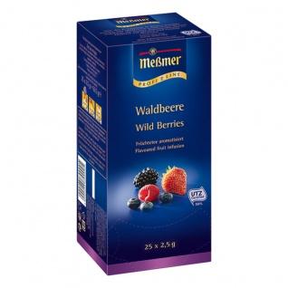 Meßmer ProfiLine Waldbeere aromatisierter Früchtetee 3er Pack