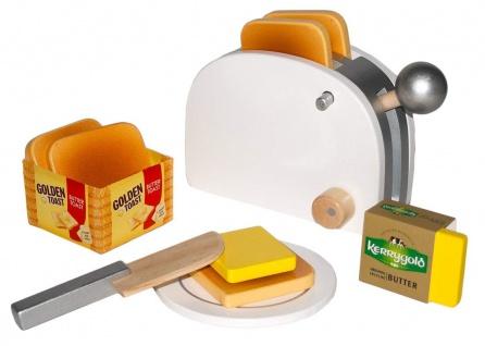 Kaufladen Golden Toast Set