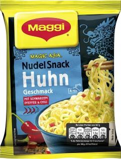 Maggi Magic Asia Huhn Snack Mit Schwazem Pfeffer und Chili 65g