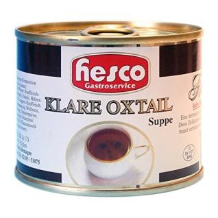 Klare Oxtailsuppe tafelfertig, 2er Pack (2 x 212 ml)