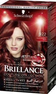 Schwarzkopf Brillance Couture Collection 922 Kastanienrot 143ml