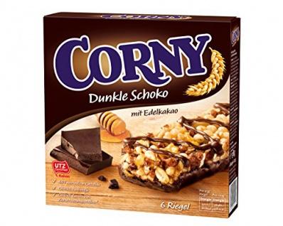 Corny Dunkle Schoko mit Edelkakao Schoko Müsliriegel 10er Pack