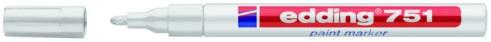 edding 751 Lackmarker paint marker stark deckend Farbe weiss 1-2mm