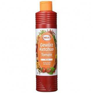 Hela Tomaten Gewürz Ketchup mit mild würzigem Geschmack 800ml