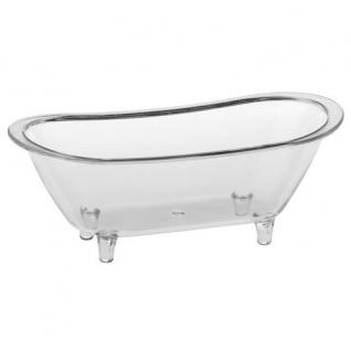 Fingerfood Schalen Polystyrol glasklar Badewanne Papstar 10 Stück