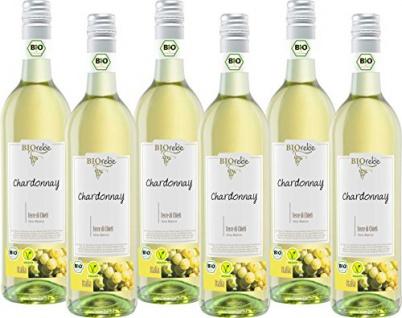 Peter Mertes Kg Weinkeller Biorebe Chardonnay Trocken 750ml 6er Pack