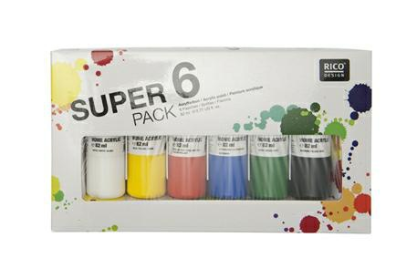 Super 6 Pack Home Acrylic