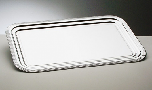 Assheuer und Pott Party Tablett Servier Tablett aus Metall 530x325mm