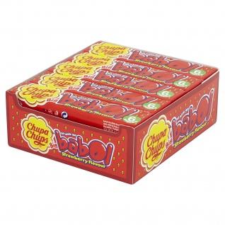 Chupa Chups Big babol Strawberry Thekendisplay 27g 20er Pack