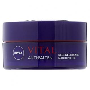 Nivea Visage Vital regenerierende Nachtpflege, 1er Pack (1 x 50 ml)