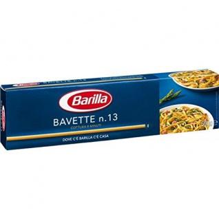Pasta Barilla Bavette Nr13 italienisch Nudeln 500g 12er Pack