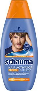 Schauma Hair Activator Koffein Shampoo, 4er Pack (4 x 400 ml)