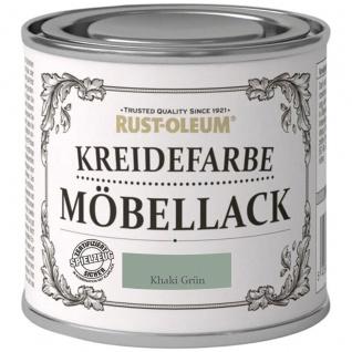 Rust Oleum Shabby Kreidefarbe Möbellack Khaki Grün mattes Finish 125ml