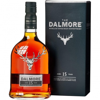 The Dalmore Whisky 15 Jahre Highland Single Malt Scotch Whisky 700ml