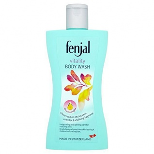 Fenjal Vitality Body Wash Creme Dusche mit Alpenhonig 6er Pack