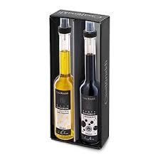 Casa Rinaldi Olivenöl extra und Balsamico Essig in Glasflaschen je 250 ml