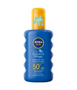 Nivea Sun Kinderspray Lichtschutzfaktor 50+ für Kinder 200ml 2er Pack