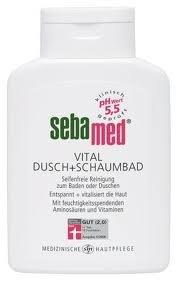 SEBAMED Vital Dusch und Schaumbad für empfindliche Haut 200 ml