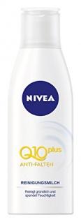 Nivea Visage Anti-Falten Q10 Reinigungsmilch 200ml, 4er Pack