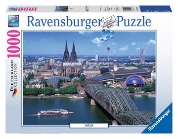 Ravensburger Puzzle - Die Stadt Köln - 1000 Teile 700x500mm