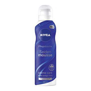 Nivea Dusche Mousse Creme Care, Schaumdusche, 6er Pack (6 x 200 ml)