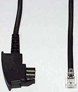 Telefonanschlusskabel TAE-St.-F We-St. 6/4