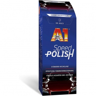 Dr. Wack A1 Speed Polish für Hochglanz und Feinkrazentfernung 500ml