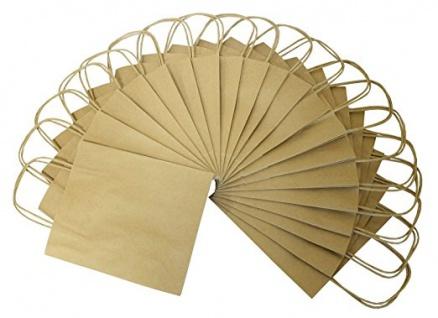 Papiertueten aus 125g/m Kraftpapier