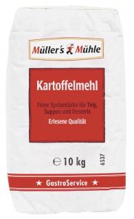 Müllers Mühle Kartoffelmehl für Suppen Desserts und Teig 10000g
