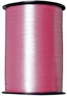 Kraeuselband glatt rosa 500 m