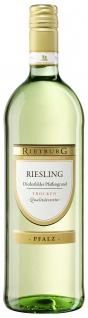 Rietburg Wappen - Diedesfelder Pfaffengrund Riesling QbA trocken 1 l 12%