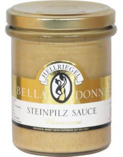 Hellriegel Bella Donna Steinpilz Sauce, 12er Pack (12 x 180 g)
