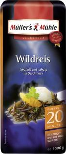 Müllers Mühle Wildreis herzhaft nussig würzig Selection 1000g