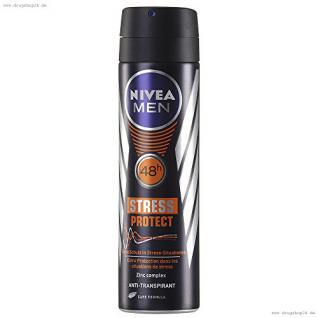 Nivea Men Deodorant Spray STRESS PROTECT, 150ml